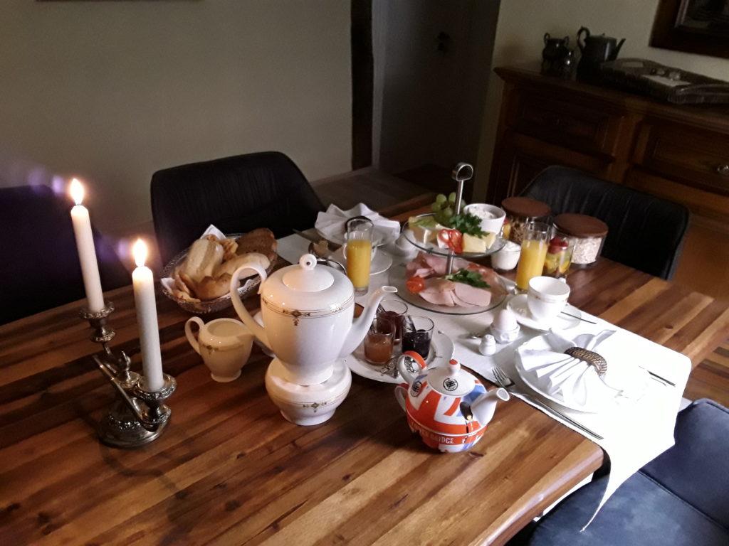 Pilgrims Rest Gasthaus Frühstück