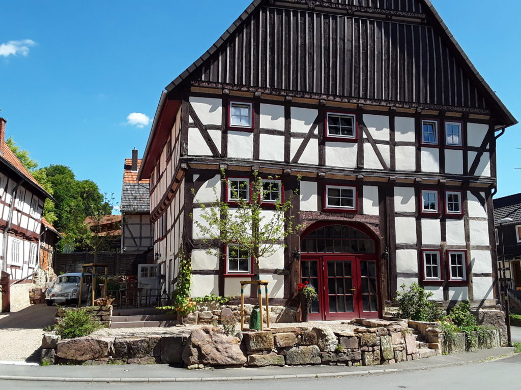 Pilgrims Rest Gasthaus Fachwerkhaus